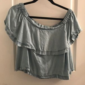 Free people off the shoulder top size S